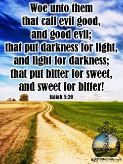 Isaiah 5-20 KJV