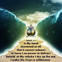 Isaiah 50-2 KJV