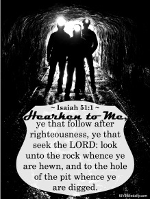 Isaiah 51-1 KJV
