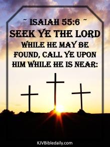 Isaiah 55-6 KJV