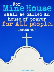 Isaiah 56-7 KJV