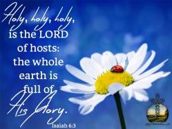 Isaiah 6 3 KJV