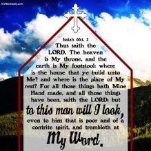 Isaiah 66-2 KJV