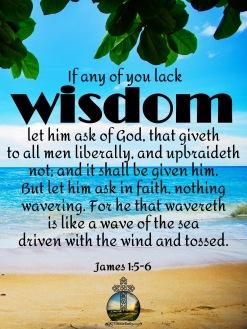 James 1 5-6 KJV