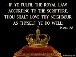 James 2 8 KJV