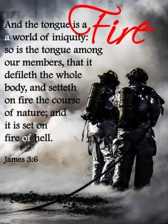 James 3 6 KJV