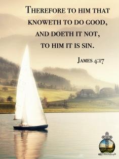 James 4 17 KJV