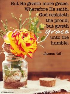 James 4 6 KJV