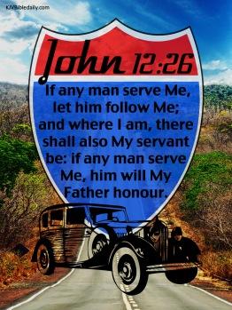 John 12-26 KJV