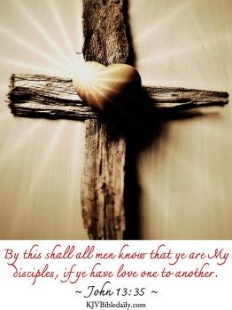 John 13-35 KJV