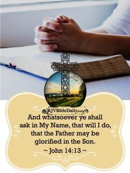 John 14-13 KJV