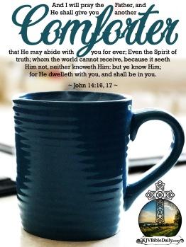 John 14-16, 17 KJV