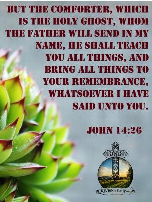 John 14-26 KJV