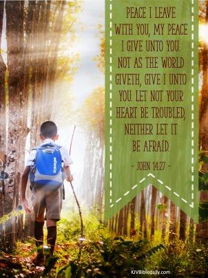 John 14-27 KJV