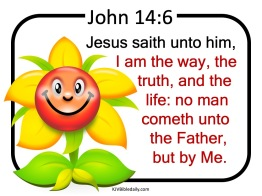 John 14-6 KJV Kids