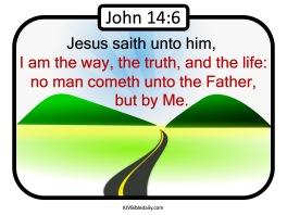 John 14-6 KJV