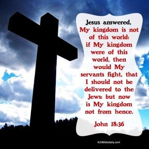 John 18-36 KJV