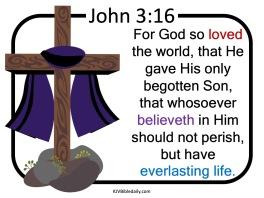 John 3-16 KJV SS