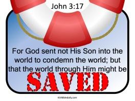John 3-17 KJV
