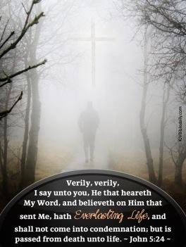 John 5-24 KJV