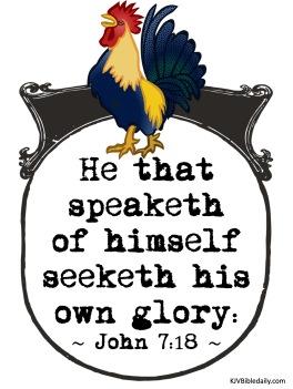 John 7-18 KJV