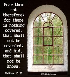 Matthew 10-26 KJV