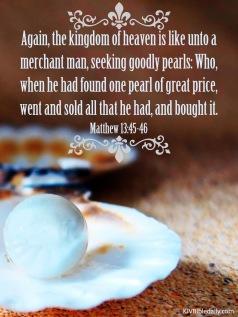 Matthew 13 45-46 KJV