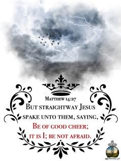 Matthew 14 27 KJV