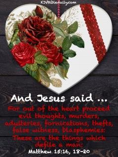 Matthew 15-16, 18-20 KJV