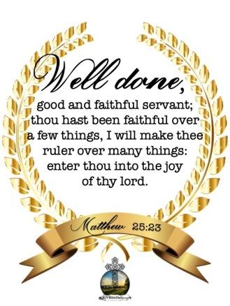 Matthew 25-23 KJV