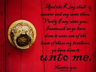Matthew 25-40 KJV