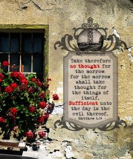 Matthew 6 34 KJV
