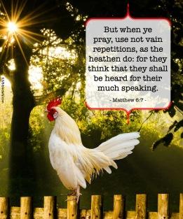 Matthew 6-7 KJV