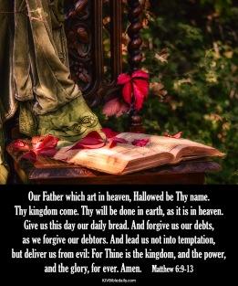 Matthew 6-9-13 KJV