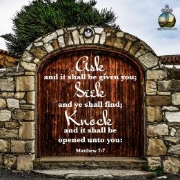 Matthew 7 7 KJV