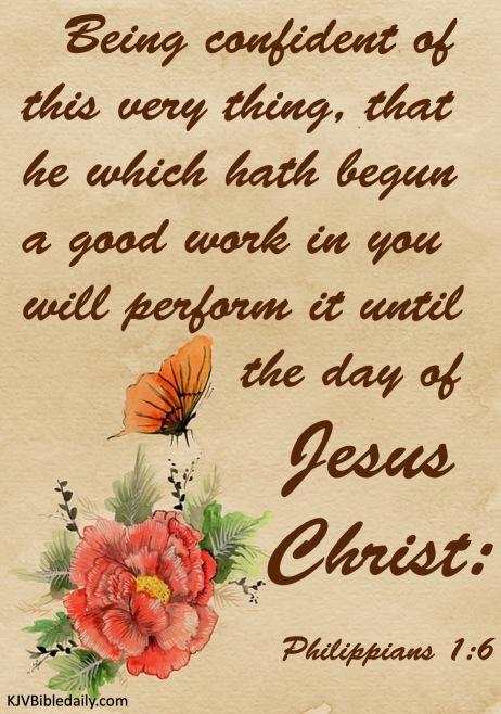 Philippians 1-6 KJV