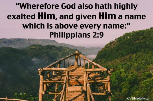 Philippians 2.9