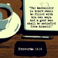 Proverbs 14 14 English