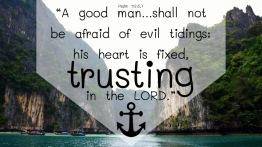 Psalm 112.4,7 English