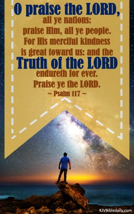 Psalm 117 KJV