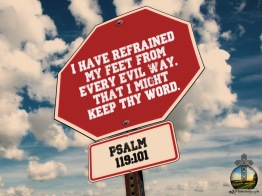Psalm 119 101 KJV