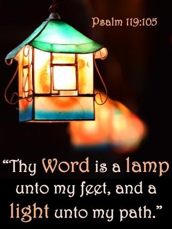 Psalm 119 105 English