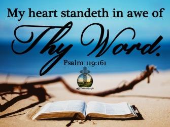 Psalm 119 161 KJV