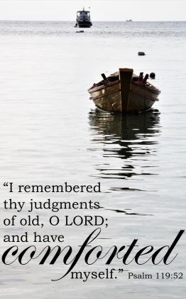 Psalm 119 52 English