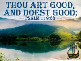 Psalm 119 68 KJV