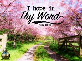 Psalm 119 81 KJV