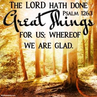 Psalm 121 6 KJV