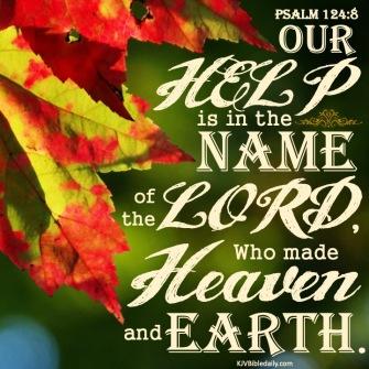 Psalm 124 8 KJV