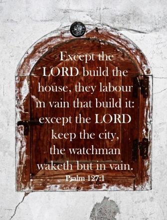 Psalm 127 1 English