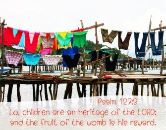 Psalm 127 3 English